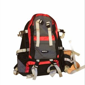 Mid size backpack for hiking camping travelling